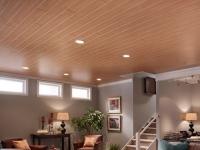 Ламинат – самый практичный и недорогой способ отделки потолка