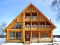 Строим частный дом из срубов