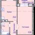 Новая просторная 1 комнатная квартира