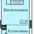 1 комн. кв. в новостройке, 1399 т.р.