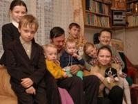 Число многодетных семей растет из года в год